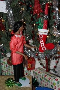 Darq Xmas stocking