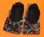 Oz glitz-bling shoes closeup
