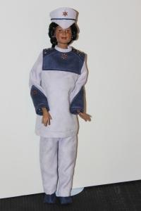 Darq in her uniform 01