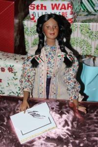 Darq's pink gift box, Christmas 2013