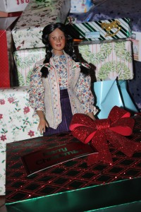 Darq and her wrapped gift @ 2013