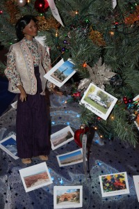 Darq and the McLean's Christmas Tree decorations, @ 2013