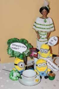 Darq & Office Minions enjoying tea?  @ 2014 www.CatherineEmclean.com